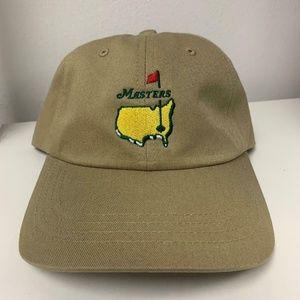 Masters Golf Hat - Tan